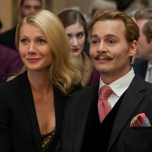 Gywneth Paltrow, Johnny Depp, MORTDECAI