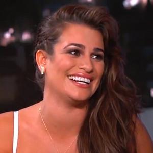 Lea Michele, Jimmy Kimmel