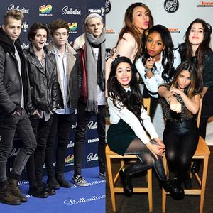 Fifth Harmony, The Vamps