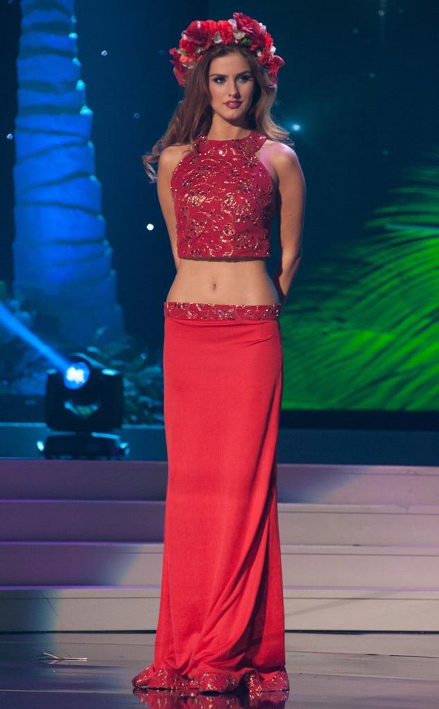 Miss serbia from 2014 miss universe national costume show - Diva tv srbija ...