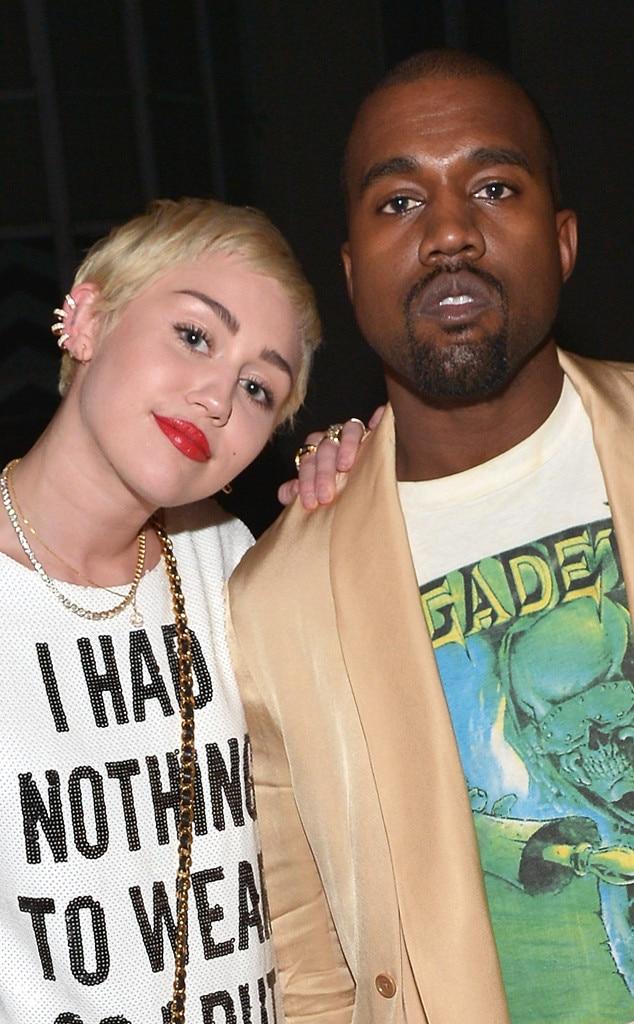 Miley Cyrus, Kanye West
