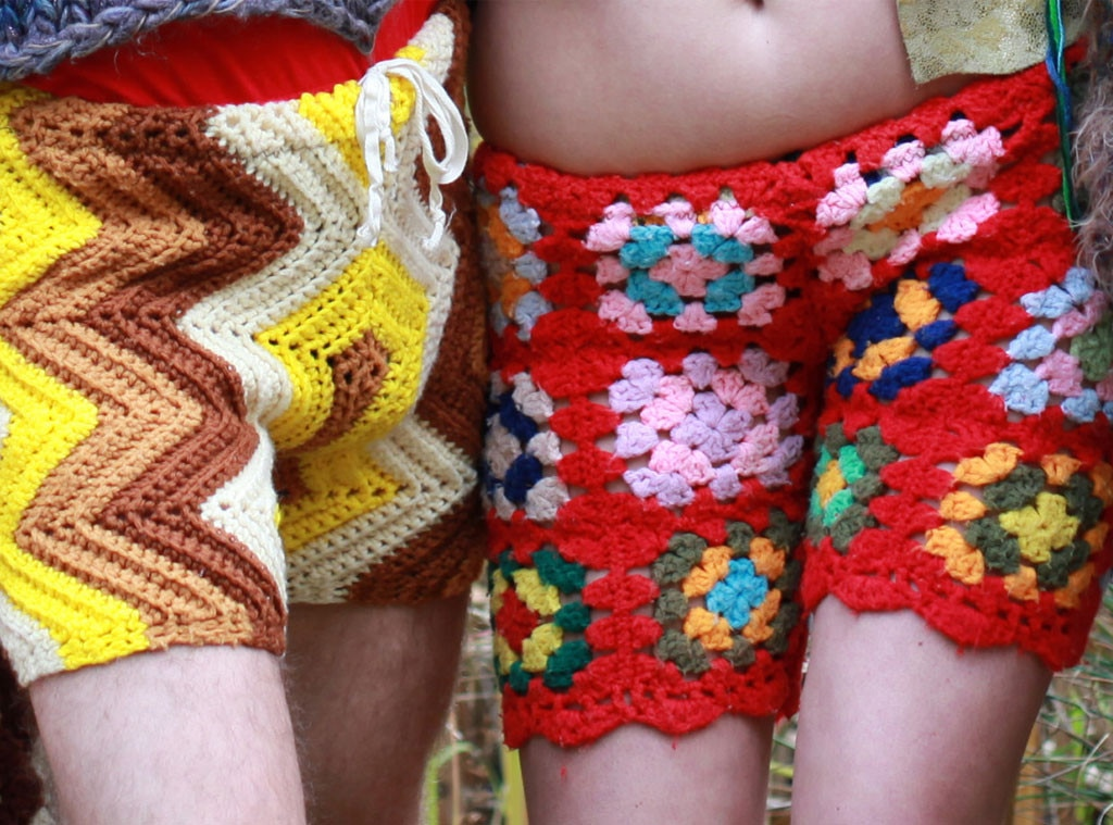 Free Patterns Crochet Shorts : Forget Mens Penis Fashions! Crochet Shorts for Guys Will ...