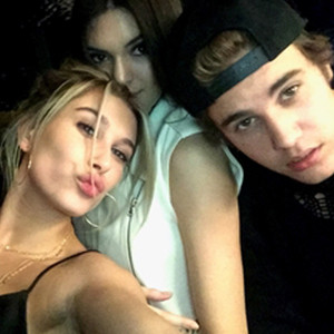 Hailey Baldwin, Justin Bieber, Kendall Jenner