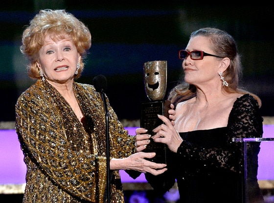 Debbie Reynolds, Carrie Fisher, SAG Awards, Winner