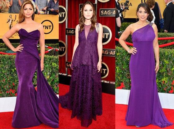 Violet Gowns, SAG Awards