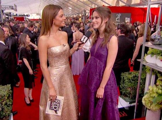 Keira Knightley, SAG Awards, E!