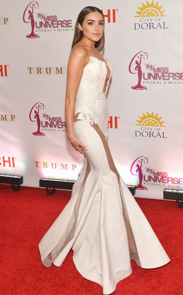 olivia culpo u0026 39 s revealing dress may not make the miss universe contestants feel jealous after all