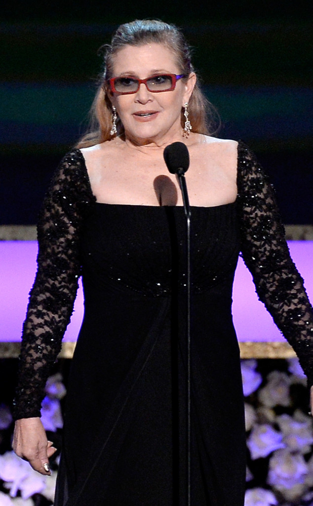 Carrie Fisher, SAG Awards