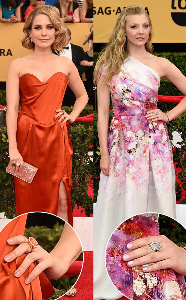 Sophia Bush, Natalie Dormer, SAG Awards