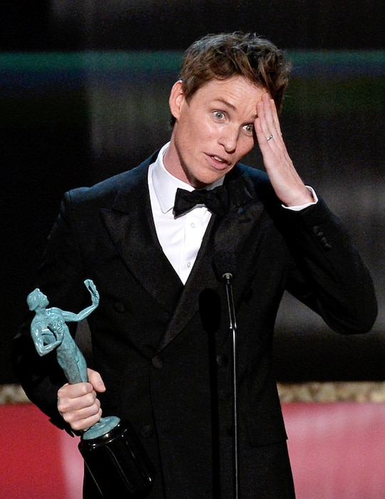 Eddie Redmayne, SAG Awards, Winner