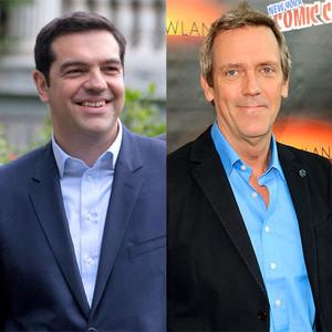 Alexis Tsipras, Hugh Laurie