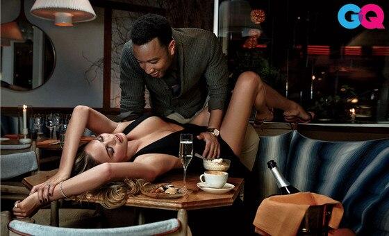 Chrissy Teigen, John Legend, GQ