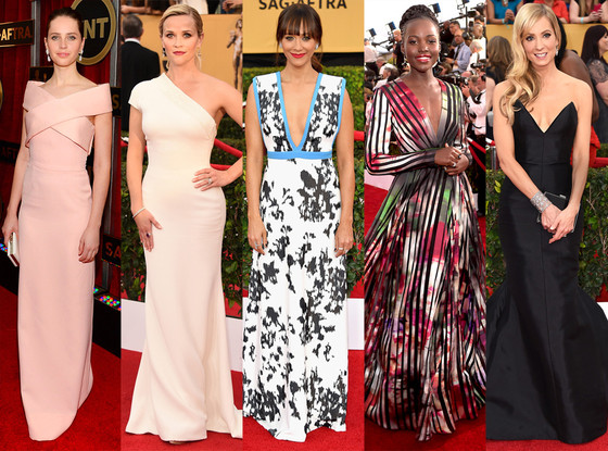 Gowns By Age At The 2015 Sag Awards See How Stars In