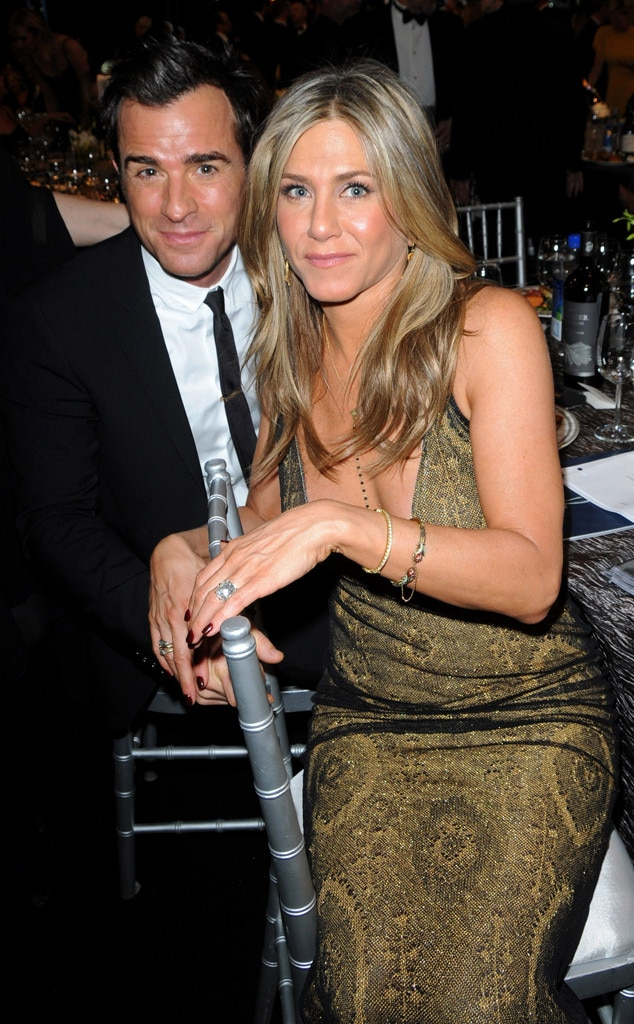 Jennifer Aniston, Justin Theroux, SAG Awards