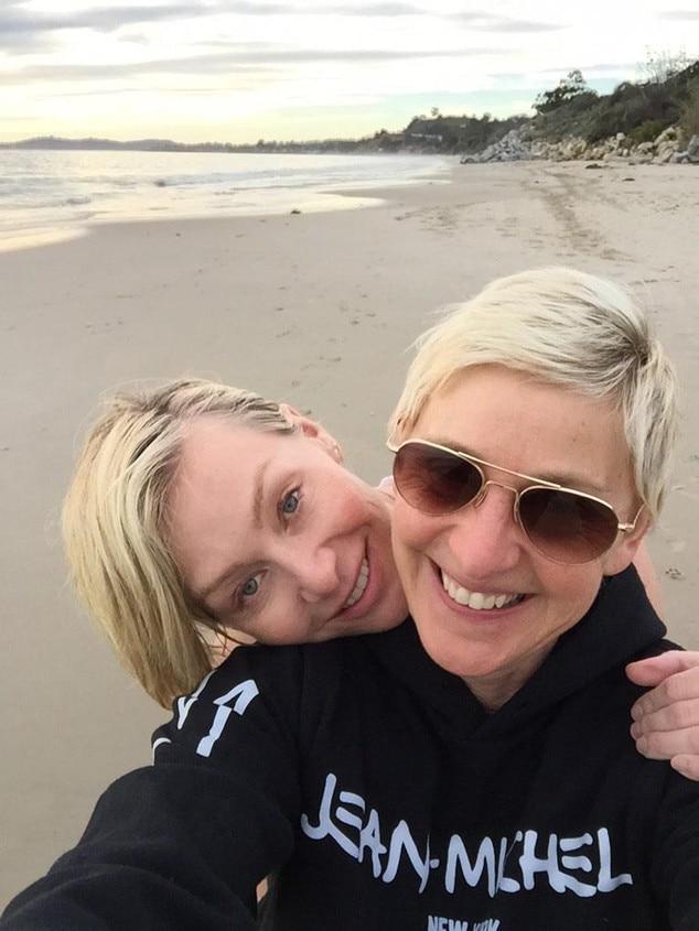 Ellen DeGeneres, Portia De Rossi, Twitter