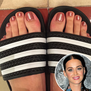 Katy Perry, Pedicure, Instagram