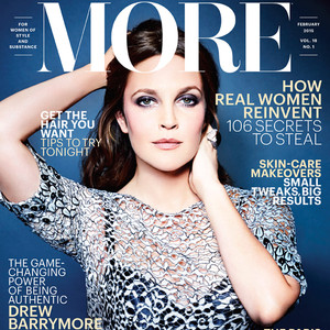 Drew Barrymore, More Magazine