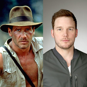 Indiana Jones, Harrison Ford, Chris Pratt