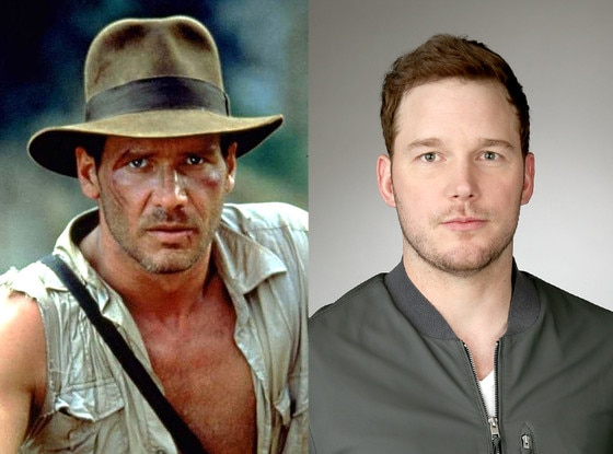 Indiana Jones, Harrison Ford, Chris Pratt