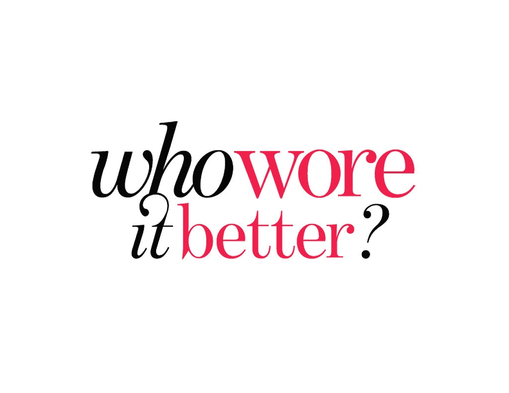 Who Wore it Better Logo