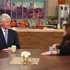 Bill Clinton, Rachael Ray