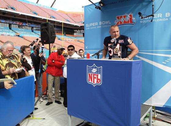 NFL Fines, Brian Urlacher