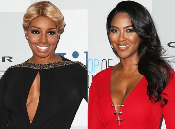 Nene Leakes, Kenya Moore, Real Housewives of Atlanta