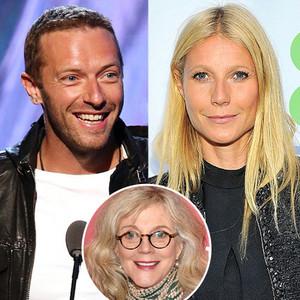 Gwyneth Paltrow, Chris Martin, Blythe Danner