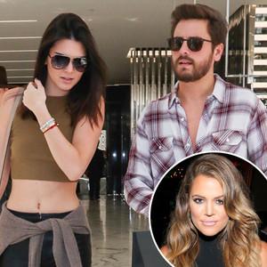 Kendall Jenner, Scott Disick, Khloe Kardashian