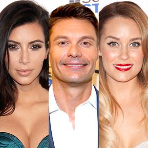 Jessica Alba, Kim Kardashian, Ryan Seacrest, Lauren Conrad