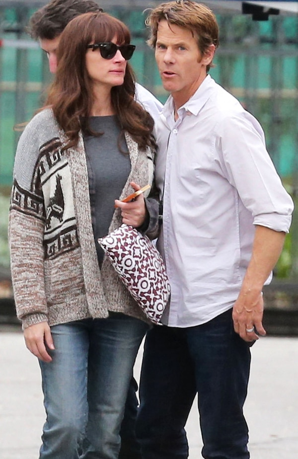 Julia Roberts & Danny Moder From The Big Picture: Today'S Hot