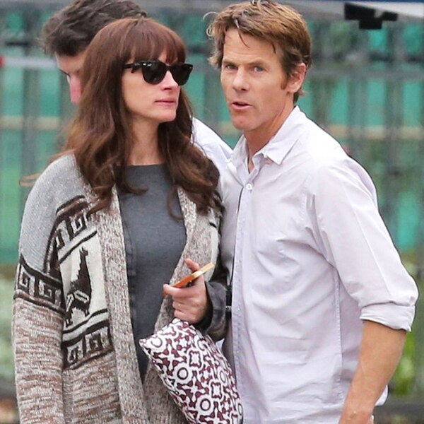 Julia Roberts & Danny Moder from The Big Picture: Today\'s Hot ...