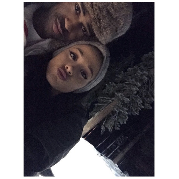 Big Sean, Ariana Grande, Instagram