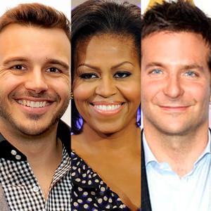 Charlie Ebersol, Michelle Obama, Bradley Cooper