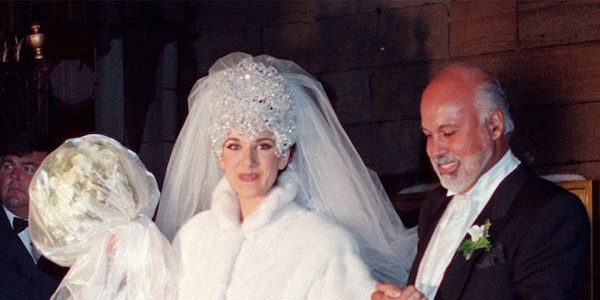 Celine Dion And Rene Angelil From The Most Over Top Celebrity Weddings