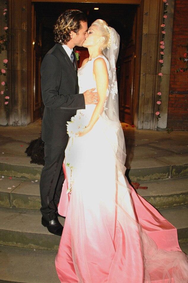 Gavin Rossdale, Gwen Stefani, Wedding, 2002