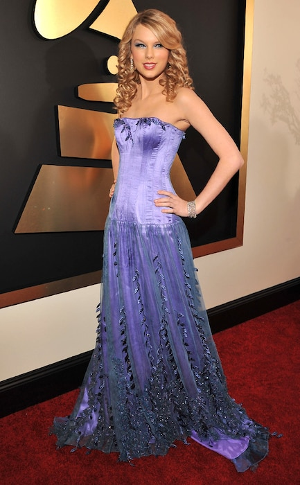 Taylor Swift, First Grammys