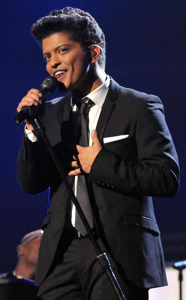 Bruno Mars, First Grammys