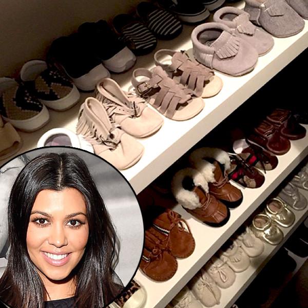 Kourtney Kardashians Shoe Game For Penelope Disick Blows Kim