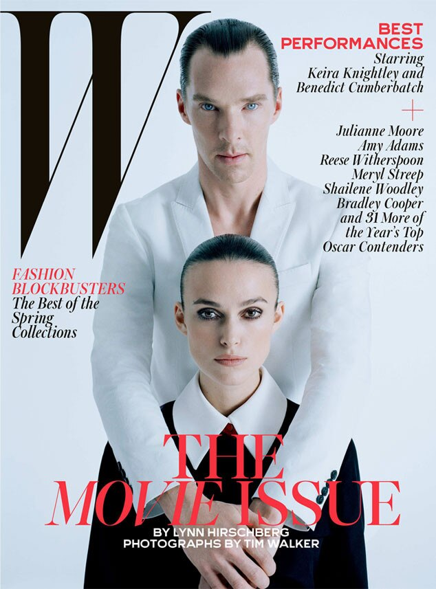 W Magazine, Benedict Cumberbatch, Keira Knightley