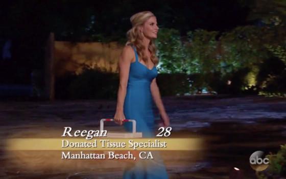 The Bachelor, Reegan