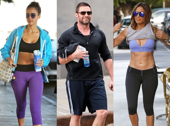 Arm Workouts, Jessica Alba, Hugh Jackman, Jennifer Lopez