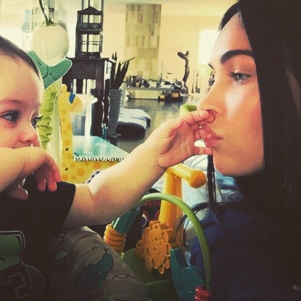 Megan Fox, Bodhi Ransom Green, Instagram