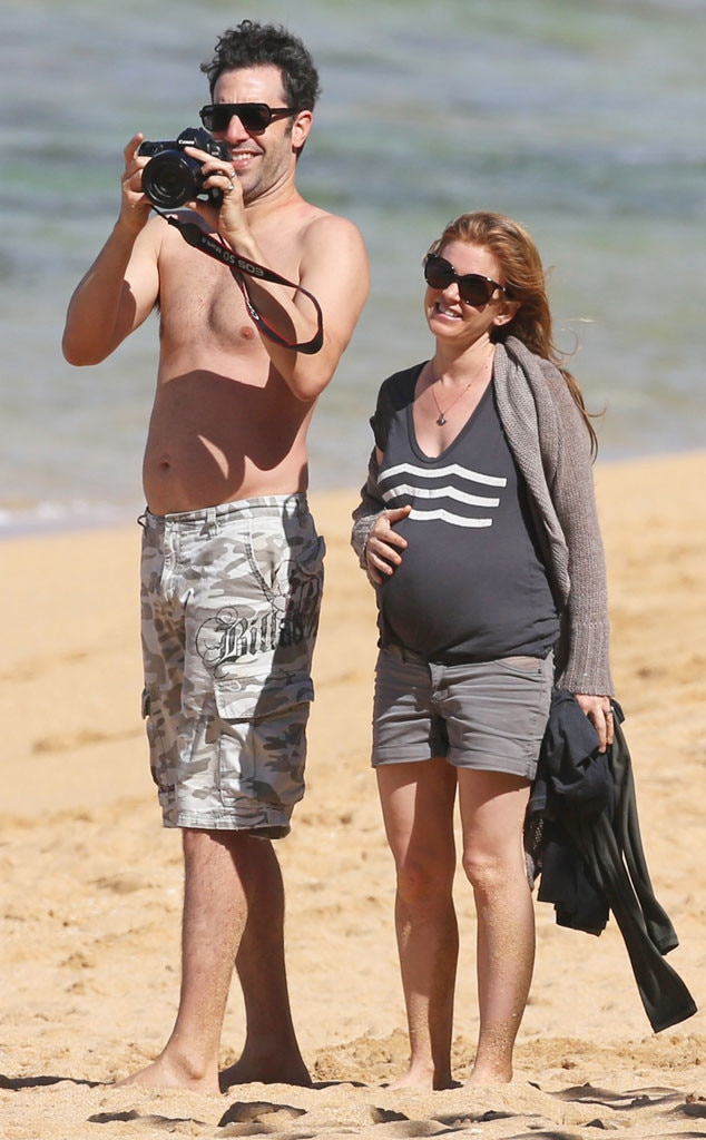 Isla Fisher Amp Sacha Baron Cohen From Celebs On Vacation
