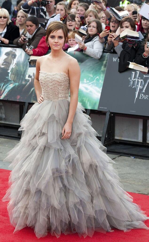Oscar De La Renta, Gowns, Emma Watson