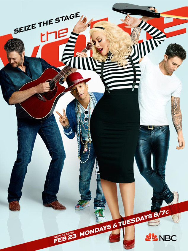 The Voice Season 8 Keyart