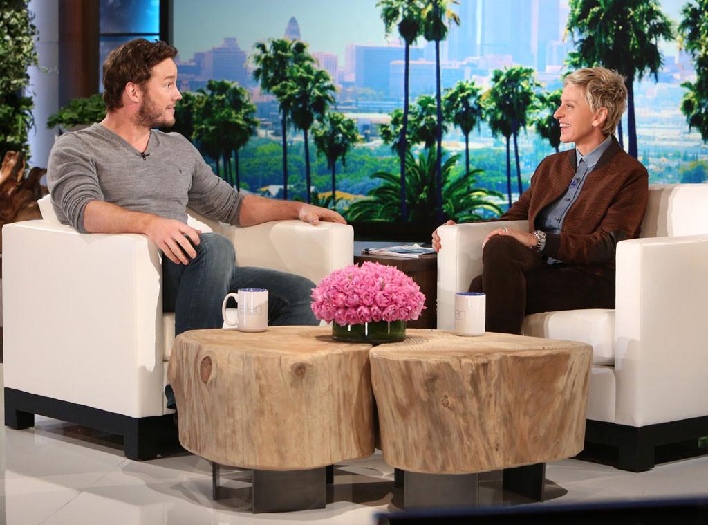Chris Pratt, Ellen DeGeneres, Ellen DeGeneres Show