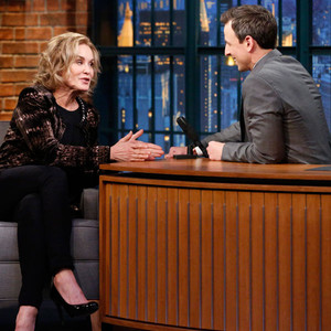 Jessica Lange, Late Night With Seth Meyers
