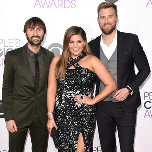 Dave Haywood, Hillary Scott, Charles Kelley,  Lady Antebellum, People's Choice Awards