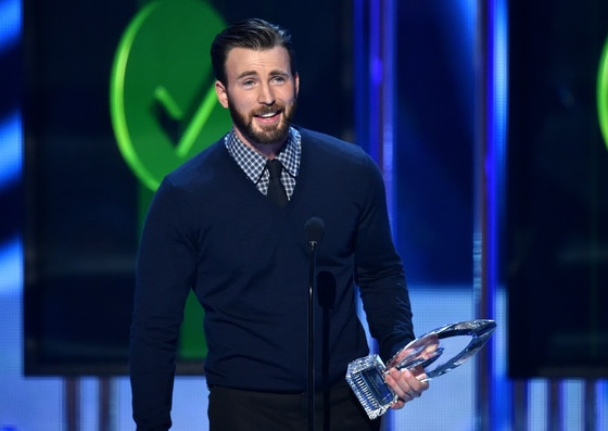 Chris Evans, People's Choice Awards Show